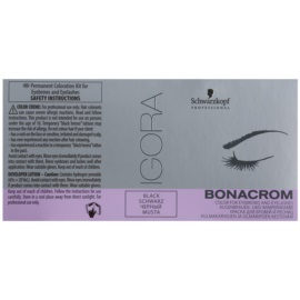 Schwarzkopf Professional Igora Bonacrom activator vopsea sprâncene pentru uz profesonial Black 10 ml