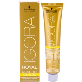 Schwarzkopf Professional IGORA Royal Absolutes Age Blend coloração de cabelo tom 8-140  60 ml