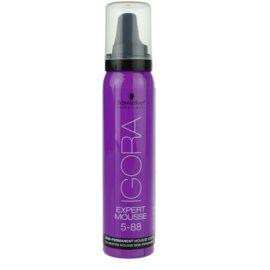 Schwarzkopf Professional IGORA Expert Mousse pena za barvanje za lase odtenek 5-88 Light Brown Extra Red  100 ml