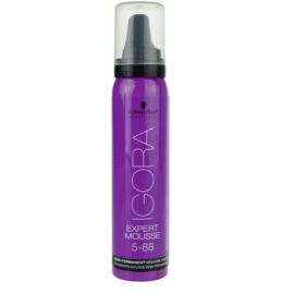 Schwarzkopf Professional IGORA Expert Mousse tinte en espuma para cabello tono 5-88 Light Brown Extra Red  100 ml