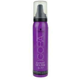 Schwarzkopf Professional IGORA Expert Mousse pena za barvanje za lase odtenek 8-77 Light Blond Extra Copper  100 ml