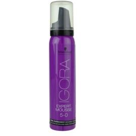 Schwarzkopf Professional IGORA Expert Mousse pena za barvanje za lase odtenek 5-0 Light Brown  100 ml