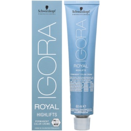 Schwarzkopf Professional IGORA Royal Highlifts cor para cabelo permanente tom 10-1 60 ml
