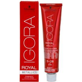 Schwarzkopf Professional IGORA Royal Mettalics barva na vlasy odstín 7-17  60 ml