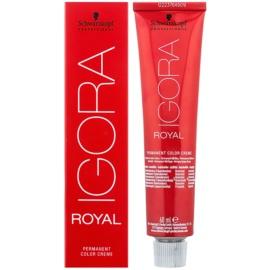 Schwarzkopf Professional IGORA Royal barva na vlasy odstín 0-89  60 ml