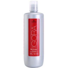 Schwarzkopf Professional IGORA Royal oksidacijska emulzija 3% 10 Vol.  1000 ml