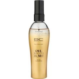 Schwarzkopf Professional BC Bonacure Oil Miracle Marula Oil olajos spray vékonyszálú és normál hajra szilikonmentes  100 ml