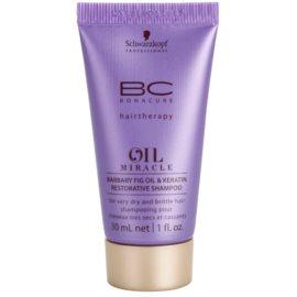 Schwarzkopf Professional BC Bonacure Oil Miracle Barbary Fig Oil champú reparador para cabello muy seco y dañado  30 ml