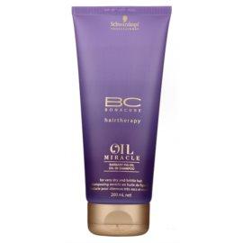 Schwarzkopf Professional BC Bonacure Oil Miracle Barbary Fig Oil champô renovador para cabelo seco e danificado  200 ml