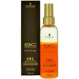 Schwarzkopf Professional BC Bonacure Oil Miracle Argan Oil kondicionér ve spreji pro všechny typy vlasů  150 ml