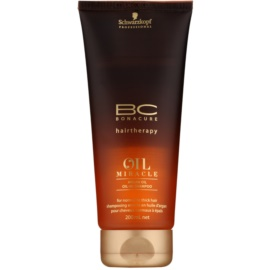 Schwarzkopf Professional BC Bonacure Oil Miracle Argan Oil Shampoo for Normal to Thick Hair  200 ml