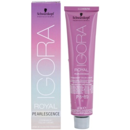 Schwarzkopf Professional IGORA Royal Pearlescence pastelna barva za lase P6-89 (Dark Blonde Magenta) 60 ml
