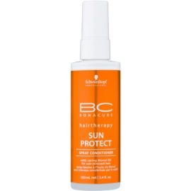 Schwarzkopf Professional BC Bonacure Sun Protect Spray Conditioner  voor Belast Haar door de Zon   100 ml
