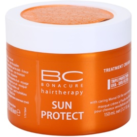 Schwarzkopf Professional BC Bonacure Sun Protect Treatment Cream With Caring Mono Oil for Sun - Stressed Hair   150 ml