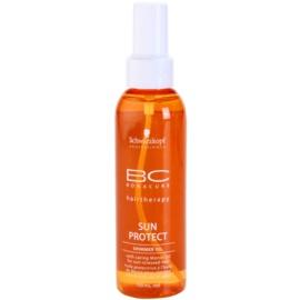 Schwarzkopf Professional BC Bonacure Sun Protect mieniący się olejek do włosów narażonych na szkodliwe działanie promieni słonecznych  150 ml
