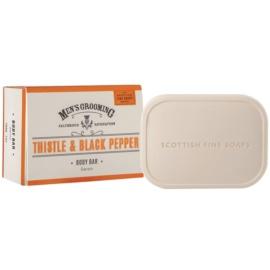 Scottish Fine Soaps Men´s Grooming Thistle & Black Pepper Soap For Men  200 g