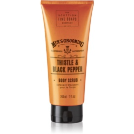 Scottish Fine Soaps Men´s Grooming Thistle & Black Pepper Energising Peeling For Men  200 ml
