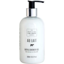 Scottish Fine Soaps Au Lait sprchový a kúpeľový gél  300 ml