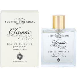 Scottish Fine Soaps Classic Male Grooming Eau de Toilette para homens 100 ml