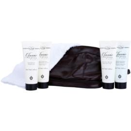 Scottish Fine Soaps Classic Male Grooming set cadou II.  Sampon 75 ml + After Shave Balsam 75 ml + gel de curățare 75 ml + exfoliant pentru corp 75 ml + prosop