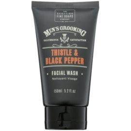 Scottish Fine Soaps Men´s Grooming Thistle & Black Pepper gel limpiador para rostro  150 ml