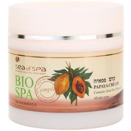 Sea of Spa Bio Spa testápoló krém papajával  250 ml