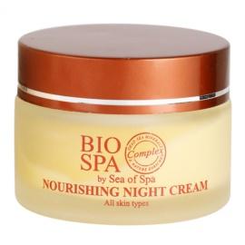 Sea of Spa Bio Spa nährende Nachtcreme für alle Hauttypen  50 ml