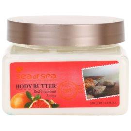 Sea of Spa Essential Dead Sea Treatment tělové máslo s minerály z Mrtvého moře Red Grapefruid  350 ml