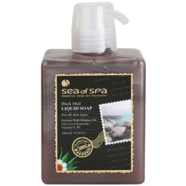 Sea of Spa Essential Dead Sea Treatment Flüssigseife Schwarzer Schlamm  500 g