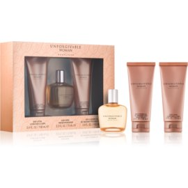 Sean John Unforgivable Woman Gift Set IV.  Eau De Parfum 75 ml + Bath and Shower Gel 100 ml + Body Milk 100 ml