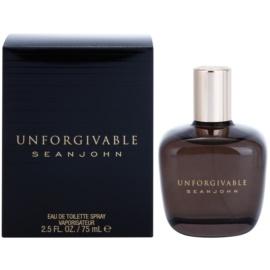 Sean John Unforgivable Men Eau de Toilette para homens 75 ml
