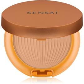 Sensai Silky Bronze ochranný voděodolný opalovací pudr SPF 30 CS01 Light  8,5 g