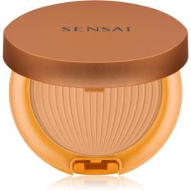 Sensai Silky Bronze ochranný voděodolný opalovací pudr SPF 30 SC 03 Medium  8,5 g