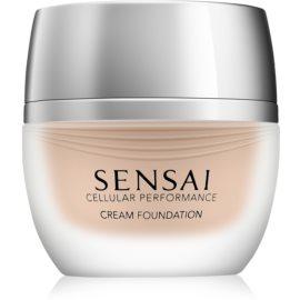 Sensai Cellular Performance Foundations krémes make-up SPF 15 árnyalat CF 23 Almond Beige 30 ml