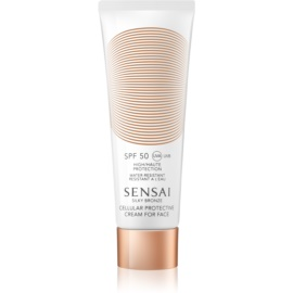 Sensai Silky Bronze Anti - Wrinkle Sun Cream SPF50  50 ml