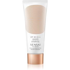 Sensai Silky Bronze krema za sončenje proti staranju kože SPF 30  150 ml