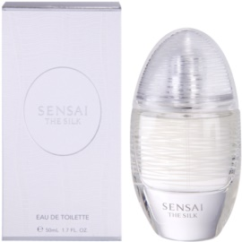 Sensai The Silk Eau de Toilette für Damen 50 ml