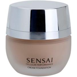 Sensai Cellular Performance Foundations krémes make-up SPF 15 árnyalat CF 12 Soft Beige 30 ml