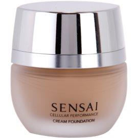 Sensai Cellular Performance Foundations krémový make-up odstín CF 13 Warm Beige SPF 15  30 ml