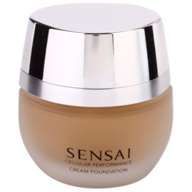 Sensai Cellular Performance Foundations make-up crema culoare CF 25 Topaz Beige SPF 15  30 ml