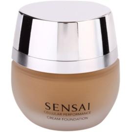 Sensai Cellular Performance Foundations krémový make-up odstín CF 24 Amber Beige SPF 15  30 ml