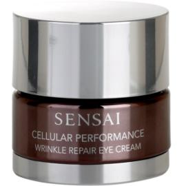 Sensai Cellular Performance Wrinkle Repair Augencreme gegen Falten  15 ml