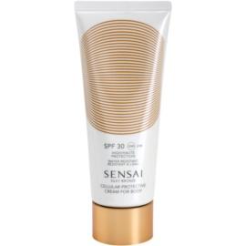 Sensai Silky Bronze krem do opalania zapobiegający starzeniu skóry SPF 30  150 ml
