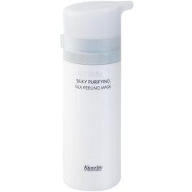 Sensai Silky Purifying Extra Care maska peelingująca do wszystkich rodzajów skóry  75 ml