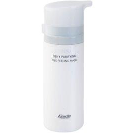 Sensai Silky Purifying Extra Care peelingová maska pro všechny typy pleti  75 ml