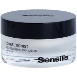 Sensilis Correctionist crema de día contra las primeras arrugas SPF 15  50 ml