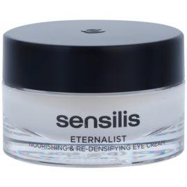Sensilis Eternalist crema nutritiva para recuperar la densidad de la piel del contorno de ojos  15 ml