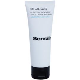 Sensilis Ritual Care čistilna maska in piling 2v1  75 ml