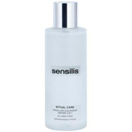 Sensilis Ritual Care почистваща мицеларна вода 3 в 1  200 мл.