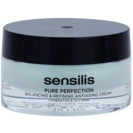 Sensilis Pure Perfection normalizačný krém pre mastnú pleť s protivráskovým účinkom  50 ml